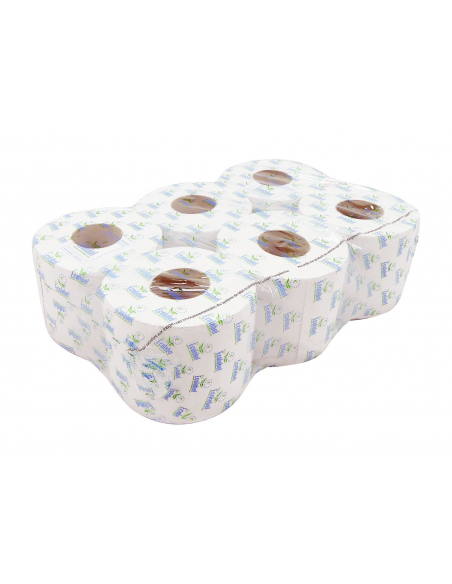 6 rlx de papier hygiénique 400 feuilles ECOLABEL