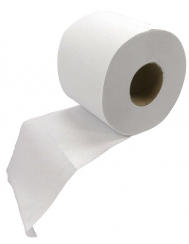 24 rollos papel higiénico 400 hojas...