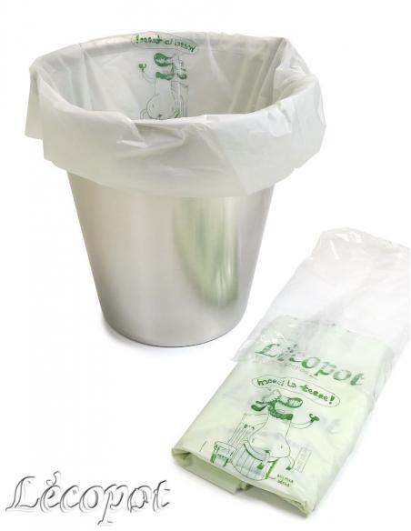 Lot de 100 Sacs compostables 36 litres