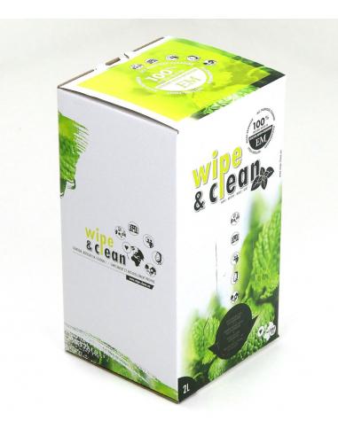 Limpiador natural Wipe & Clean EM Menta