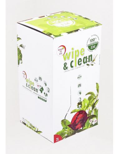 Nettoyant naturel Wipe & Clean EM Basilic