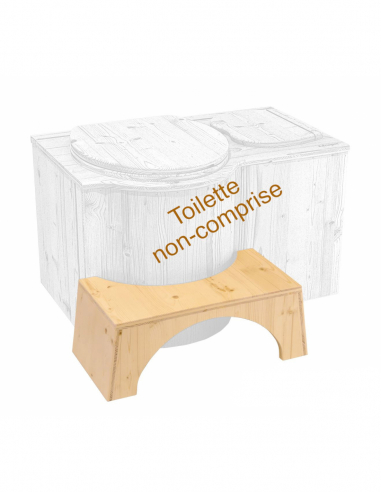 Physiological booster stool for toilet