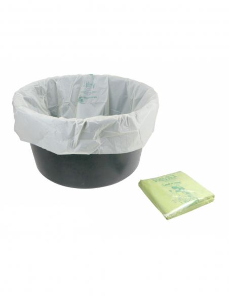 Lot de 25 sacs compostables 100 litres