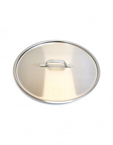 Stainless steel bucket lid