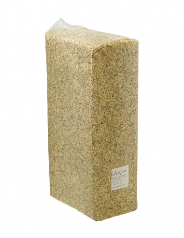 Wood shavings for compost toilets