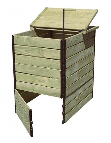 800 liter autoclave pine fir Compost bin
