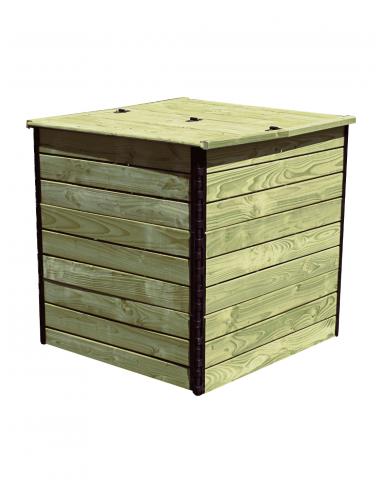 1200 liter Autoclave Pine fir compost...
