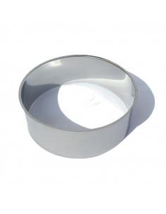 Edelstahl-Schutzring für Trockentoilette