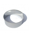 Stainless steel collar for compost toilets