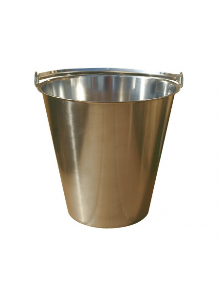 15L stainless steel bucket