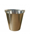 Stainless steel bucket for dry toilet - Lécopot