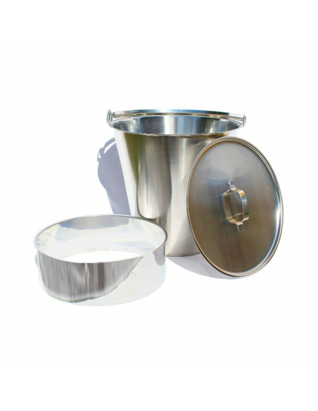 Stainless steel compost toilet components kit for self-build