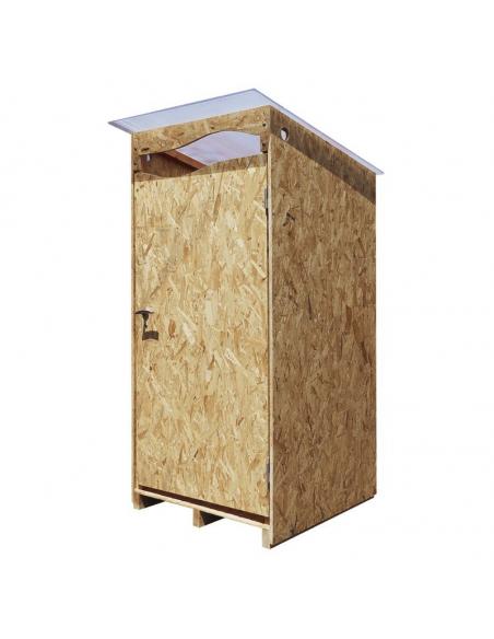 La Ventarèl - Cabine extérieure OSB pour toilette sèche
