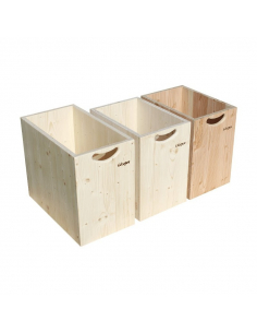 Open Sawdust Container
