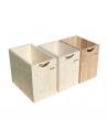 Holzbox für Sägespäne ohne Deckel
