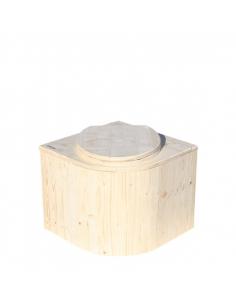 CornerLoo - dry toilet