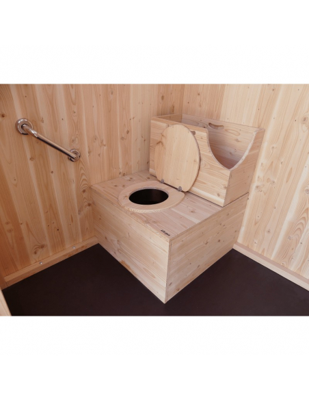 Lécobox - dry toilet for reduced mobility person